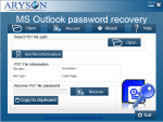 How To Recover The Password Of An Outlook Data File (.pst)