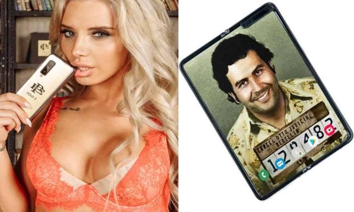 Youtuber descobre golpe por trás do celular dobrável Escobar Fold 2