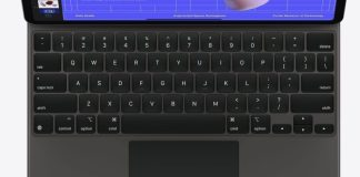 Apple works on an iPad keyboard with 'touch-strips'