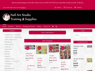 Nail Art Studio Training & Supplies