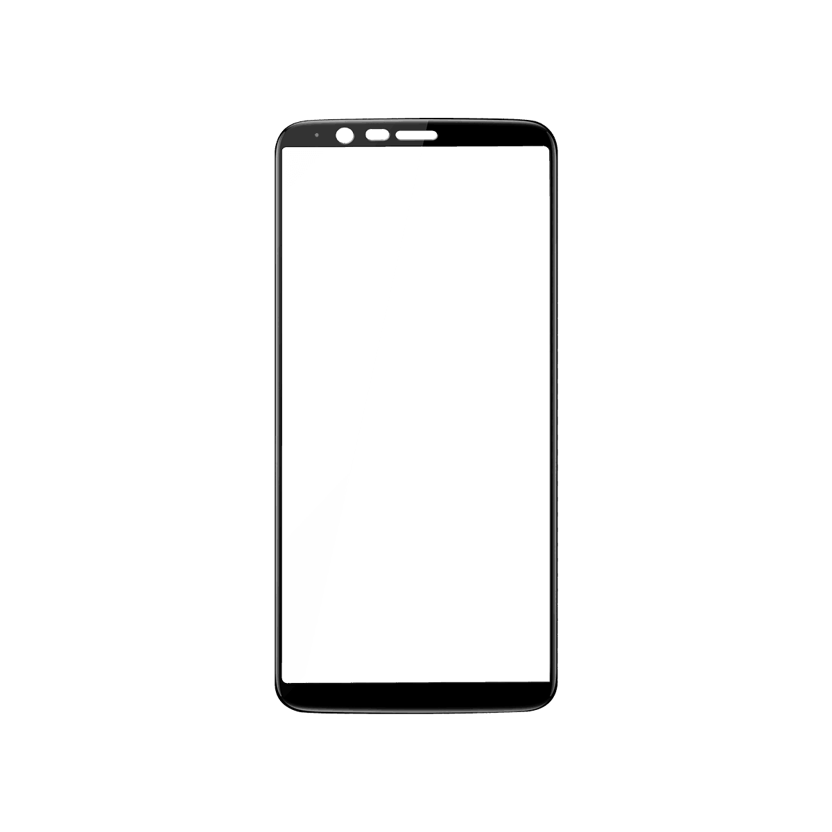 Oneplus 5t Official Tempered Glass Black