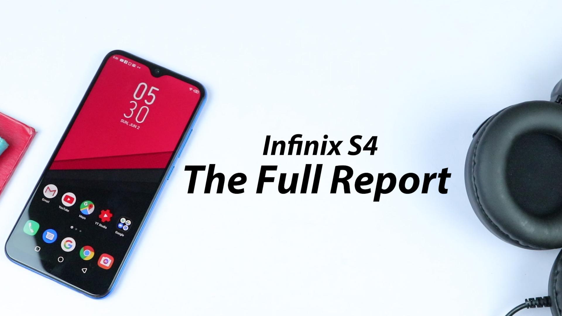 Infinix S4 Banner