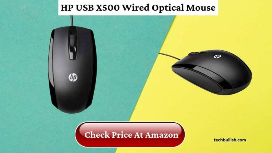 hp mouse under 500-HP-X500-Wired-Mouse