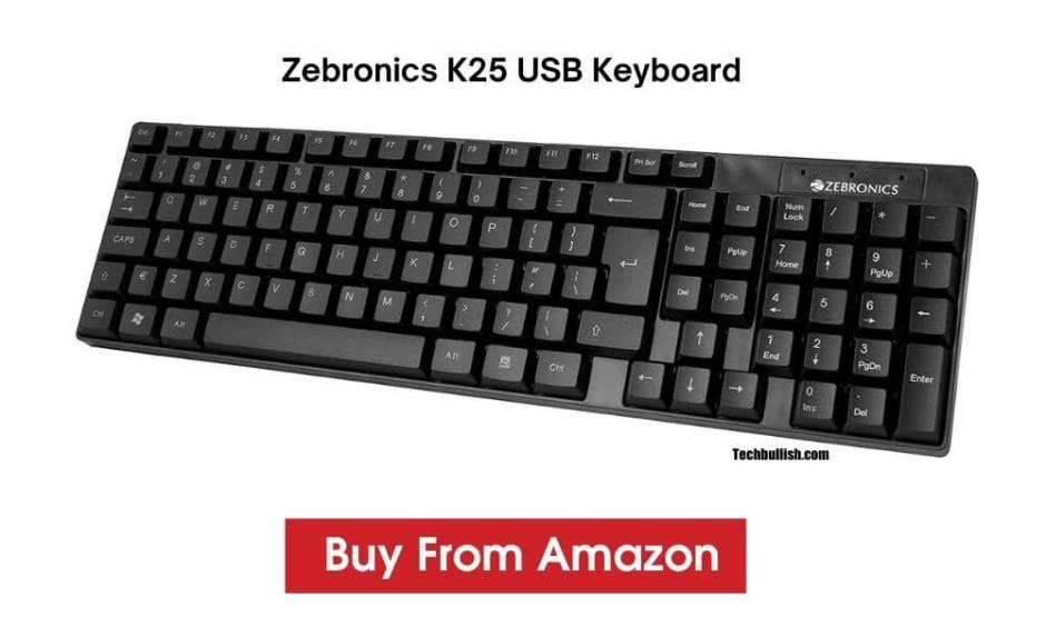 Zebronics K25 Keyboard