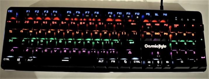 best-mechanical-gaming-keyboard-under-3000-Cosmic Byte CB-GK-12 Backlit Mechanical Keyboard