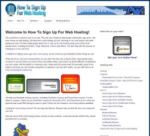 How To Sign Up For Web Hosting