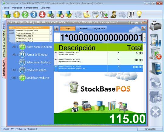 Software Highlight: EGA Futura Stockbase POS