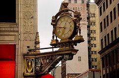 Clock on Smithfield St.