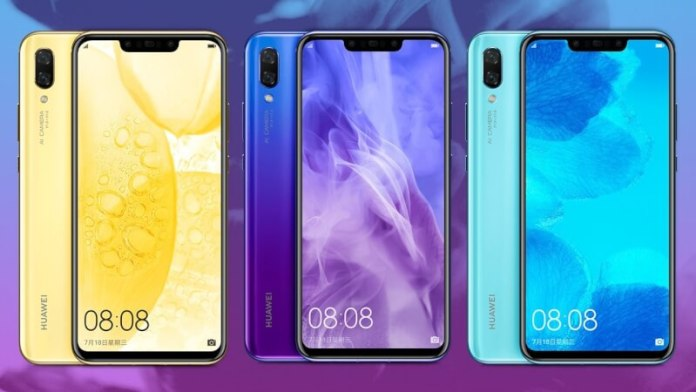 huawei launched nova 3 and 3i in india