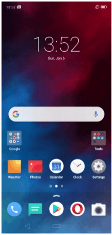 ColorOS 6 with App Drawer