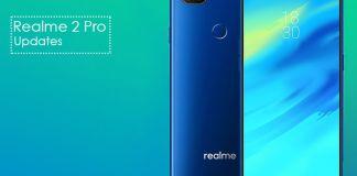 Realme 2 Pro latest updates