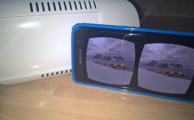Quark Expeditions Antarctic #VR Available free on Android and iOS #VirtualReality