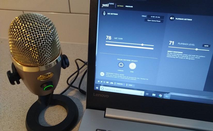 Review – The Blue Yeti Nano. #Blue #YetiNano #Audio