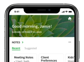 Evernote announces Home for iOS and Android. #Evernote