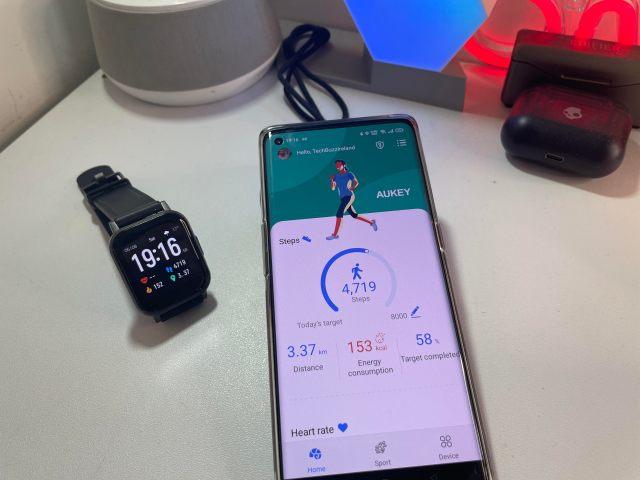 Aukey LS02 Smartwatch techbuzzireland