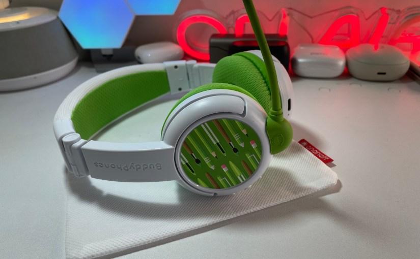 Tech Review – BuddyPhones School plus wireless headphones for kids. #Tech