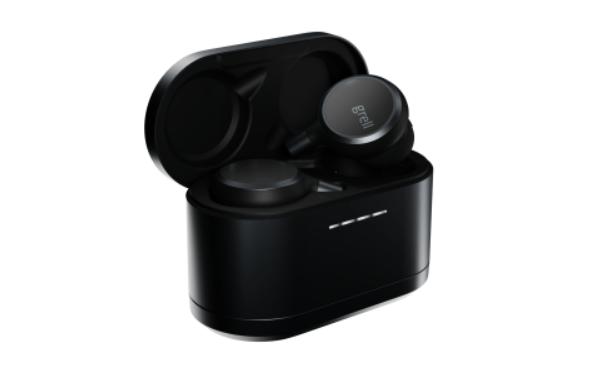 Grell Audio tws space grey in case