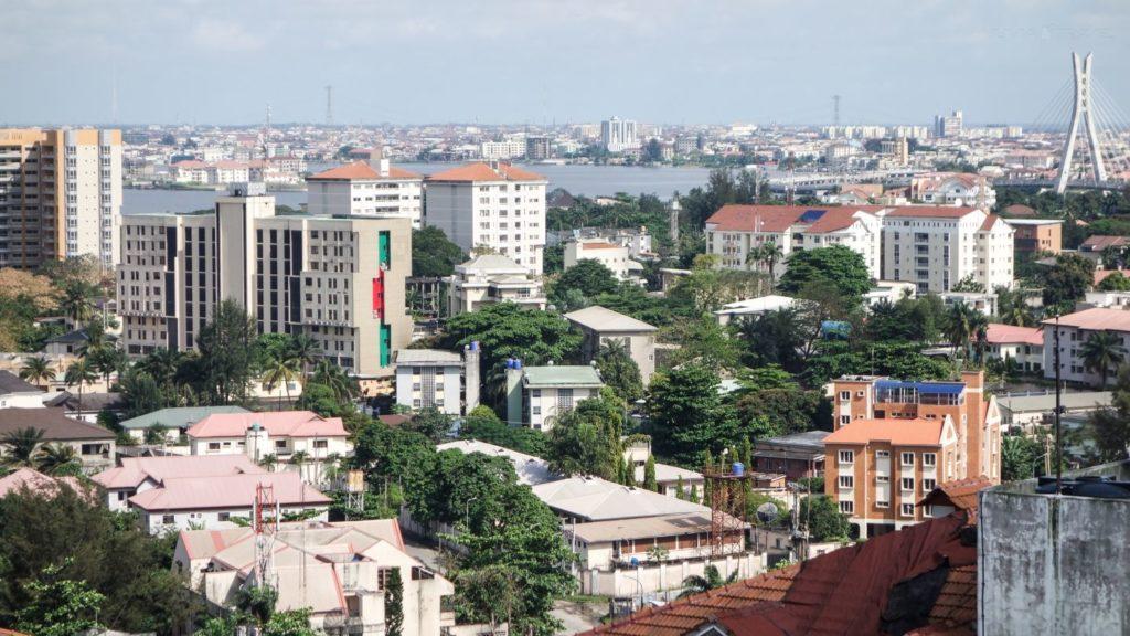 Ariel view of Ikoyi, Lagos State, Nigeria. Muster is Becoming Nigerias Airbnb