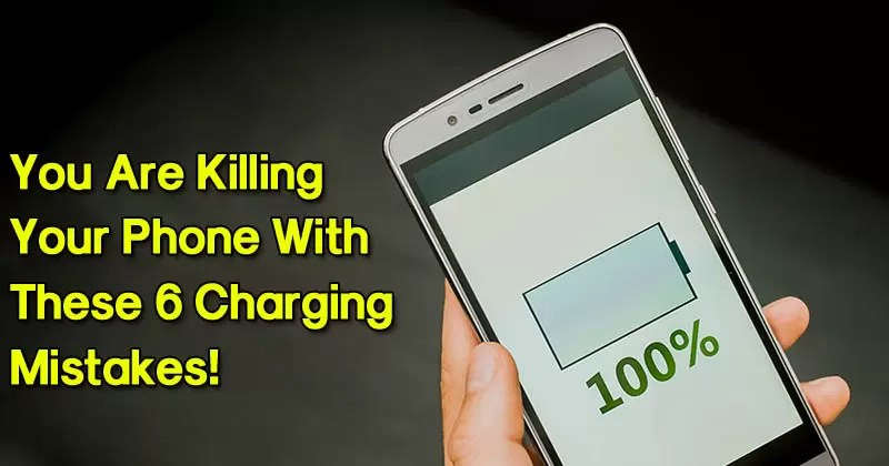You're Killing Your Phone With These 6 Charging Mistakes