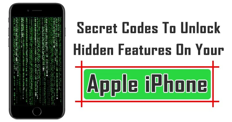 Here's The List Of Secret Codes To Unlock Hidden Features On Your Apple iPhone