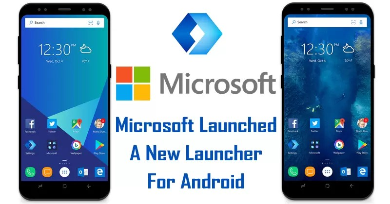 Microsoft Just Launched A New Launcher For Android