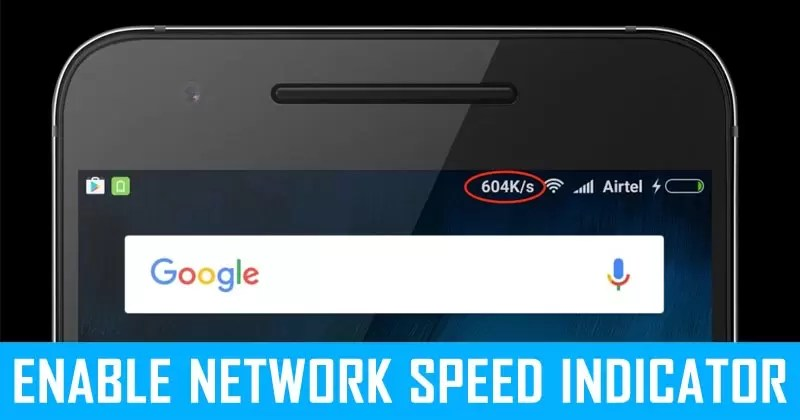 How To Display Internet Speed In Android Status Bar