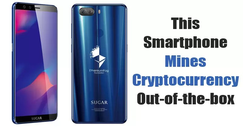 This Android Smartphone Mines Cryptocurrency Out-of-the-box