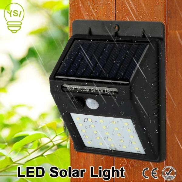 led light solar outdoor