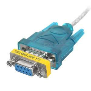 usb to rs232 female cable