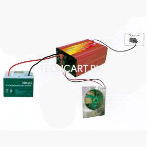 battery charger room cooler power supply