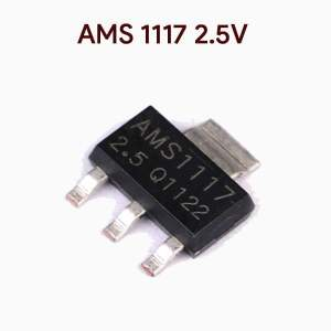 AMS 1117 2.5v Fixed Voltage Regulator