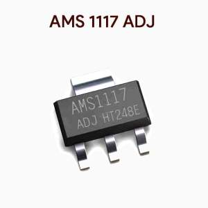 AMS1117 ADJ Adjustable Voltage Regulator