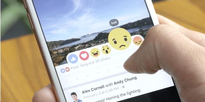 """Cuando un """"like"""" no es suficiente. Con ustedes Facebook Reactions"""