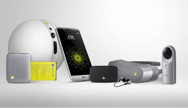 """LG llama """"amigos"""" a la línea de accesorios que se le pueden conectar a su nuevo G5"""