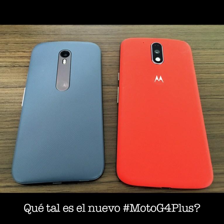 Qué tal es el nuevo #MotoG4Plus?