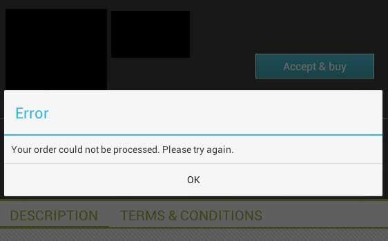 Tiene problemas con las compras dentro de las Apps de Android?