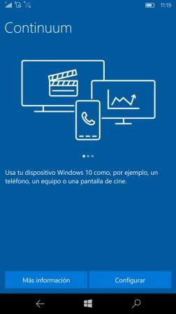 Microsoft Continuum corriendo en la Elite X3