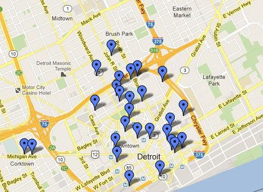 Disponibilidad de parqueaderos con Google Maps