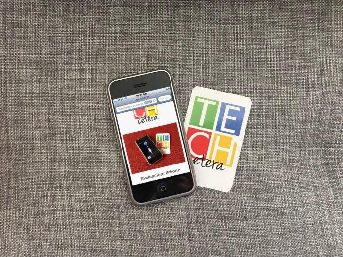 Qué tan útil es un iPhone de 1ra Generación en el 2017?