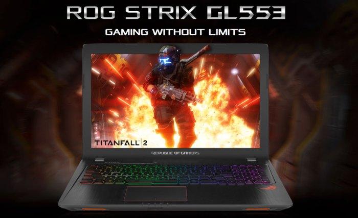 Primera vista al Asus #RogStrixGL 553 VD para #Gamers!
