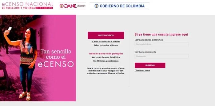 #eCenso: El Censo Eléctronico es una realidad para los Colombianos!