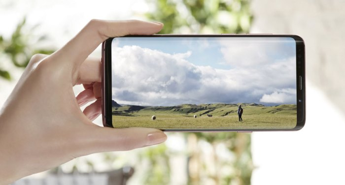 Será  que Samsung ha lanzado un Galaxy S9 o un S8++?