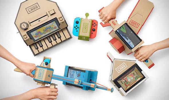 Nintendo Labo – No es sólo jugar