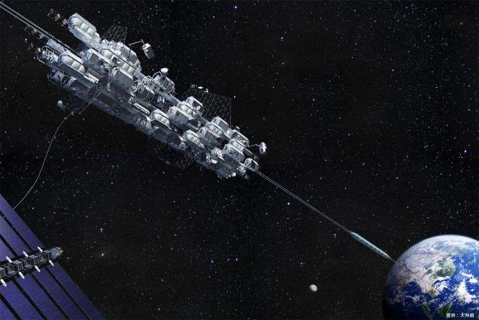 El ascensor espacial se esta haciendo realidad!