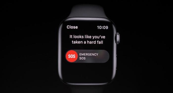 La Detección de Caídas del Apple Watch 4 ya salvó la primera vida
