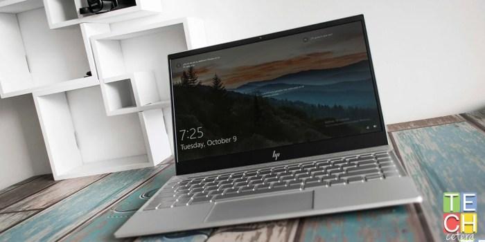 HP Envy 13. Cuando se unen diseño y potencia