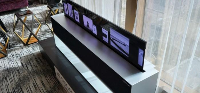 LG OLED TV R : Wow (CES 2019)
