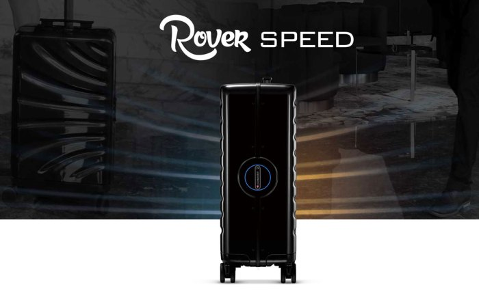 Rover Speed: una maleta ideal para un viajero frecuente!