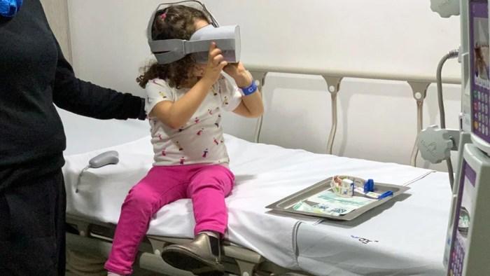 El dolor está en la mente y el uso de VR ayuda a probarlo!