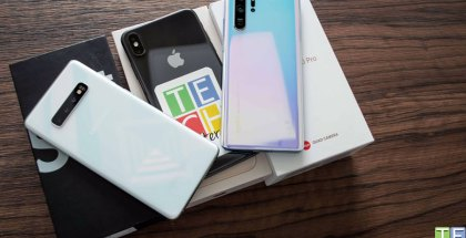 P30 Pro, s10+ y iPhone Xs Max